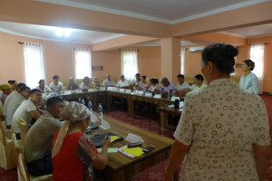 Theoretical introduction of the training program by Buajar Raimkulova
